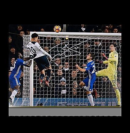 quality design 44e7b 2e4be Dele Alli Autographed Signed Tottenham Hotspur 12x18 Photo ...