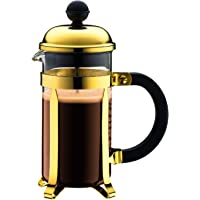 Bodum Chambord 3 cup French Press Coffee Maker, 12 oz, Chrome