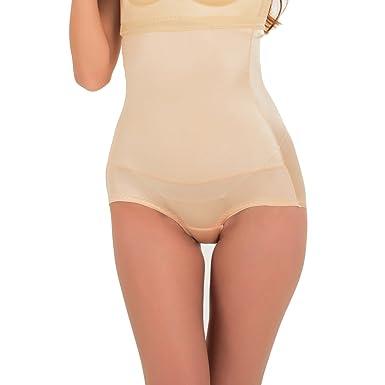 97d635257e8c4 Fzmix Seamless Women High Waist Slimming Tummy Belly Control Panties  Postnatal Body Shaper Corset Briefs Shapewear