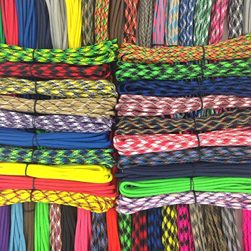1000ft Huge 550 Paracord Survival Bracelet Kit Type III 7 Strand with 1000 Feet and 100 3/8