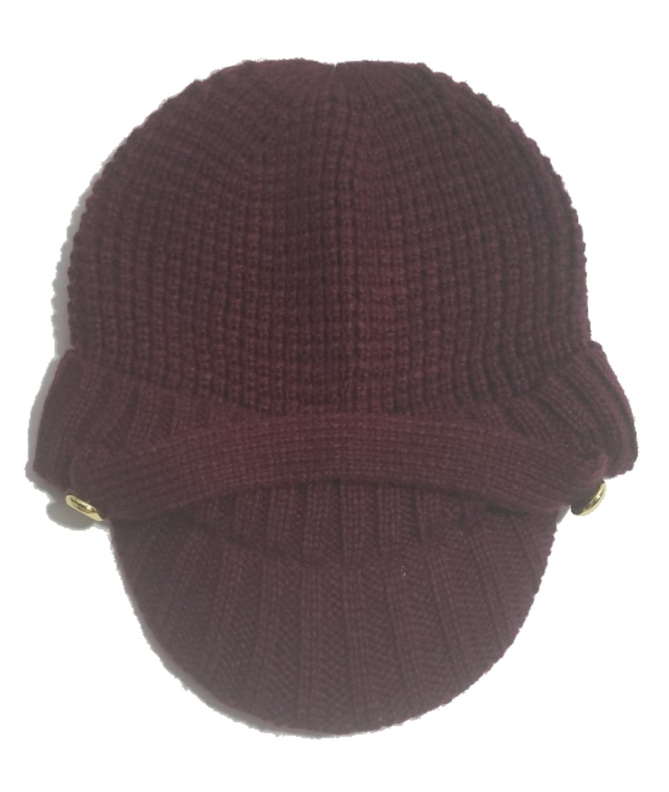 Michael Kors Knit News Boy Hat, Burgundy