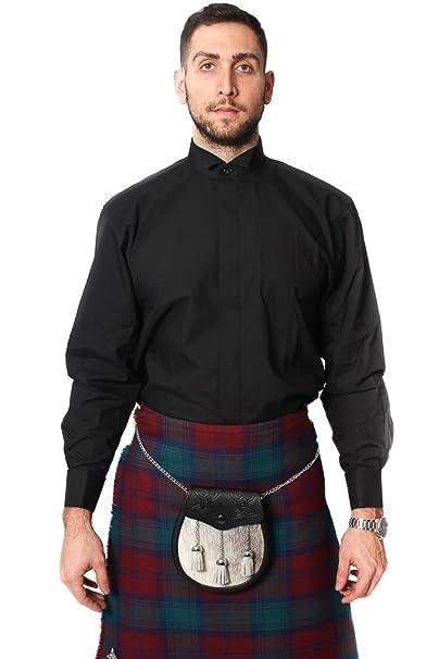 Lloyd Attree & Smith Cuello de Pajarita Vestido Formal Camisa ...