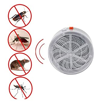 LEDMOMO Solaire Alimenté Tueur de Mosquito Zapper Insectes Électriques Bug  UV Lampe Lumière Fly Piège Pest b53c535309a7