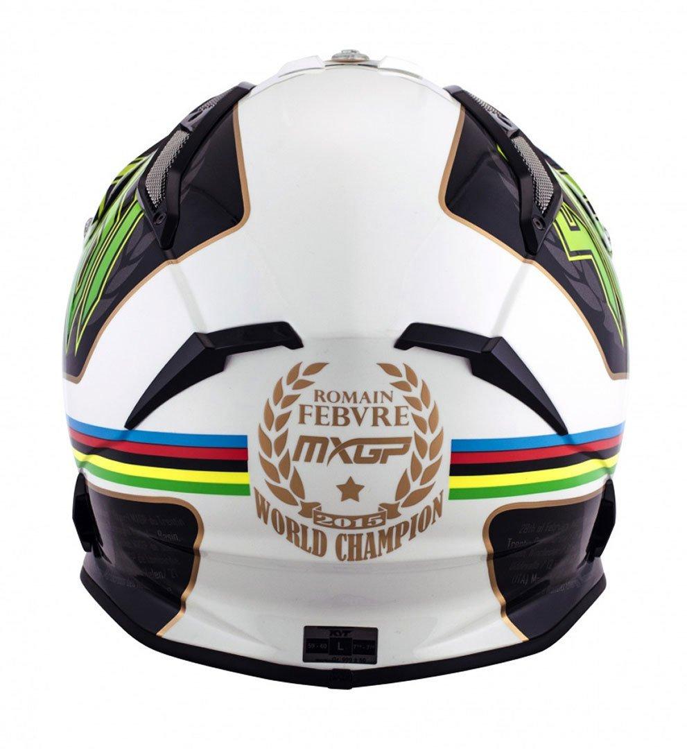 Amazon.es: KYT ysea0009.6 Casco Moto, multicolor, XL