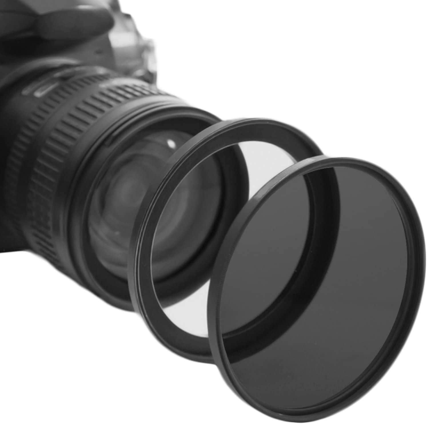 KOMET Camera Lens Filter Step-Up Ring Lens Converter Accessories 2 Pack 49mm Lens to 52mm Filter 49mm-52mm Step Up Ring