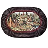 Sweet Home Collection Braided Kitchen Floor Mat, 20'' x 30'', Woodlands