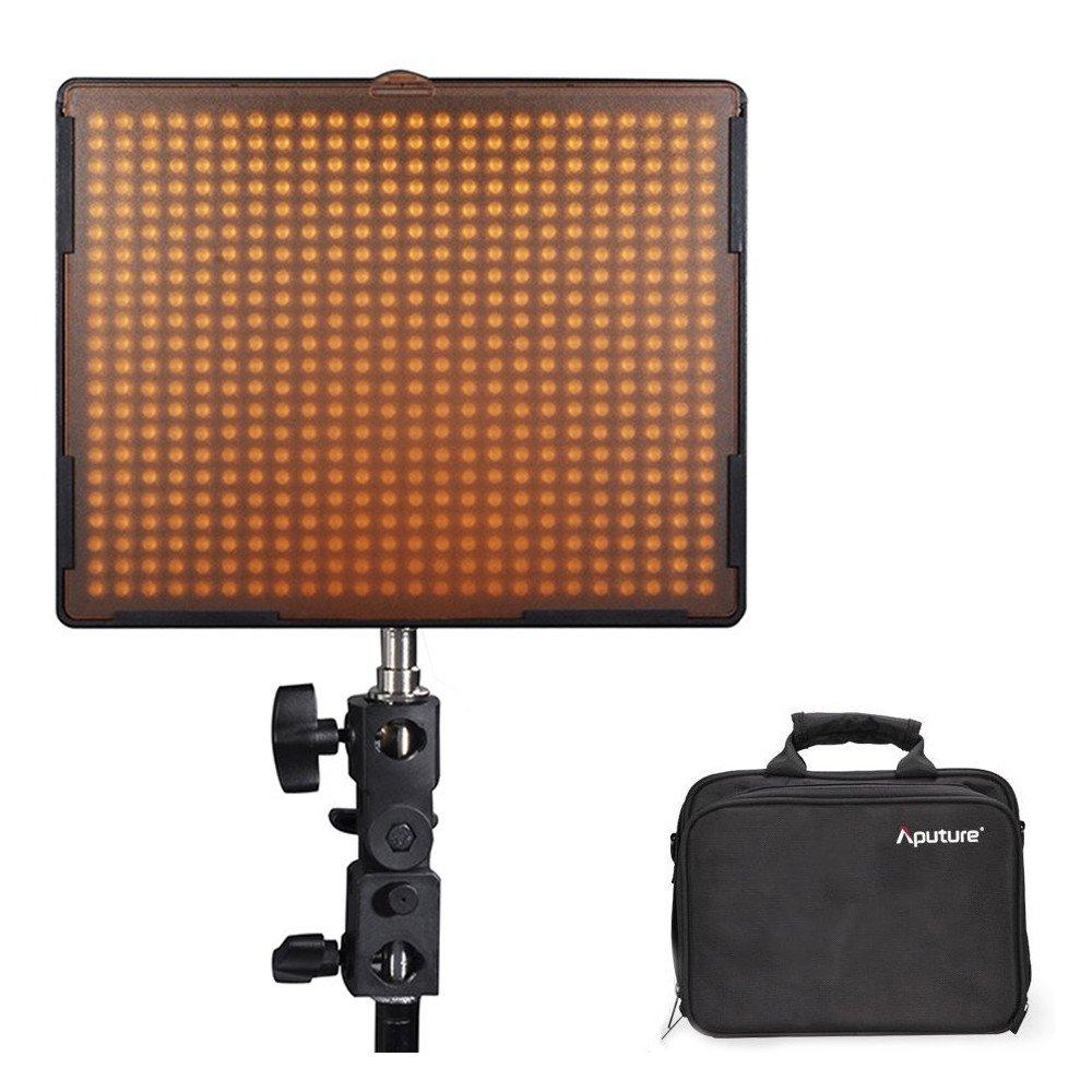 Aputure Amaran AL-528S LEDビデオライト 撮影用ライト 30W 5500K アダプター付き フィルター付き ビデオライトパネル スポットライト CRI95+ 高輝度 (528S) (AL-528S)  AL-528S B07DHD8RLL