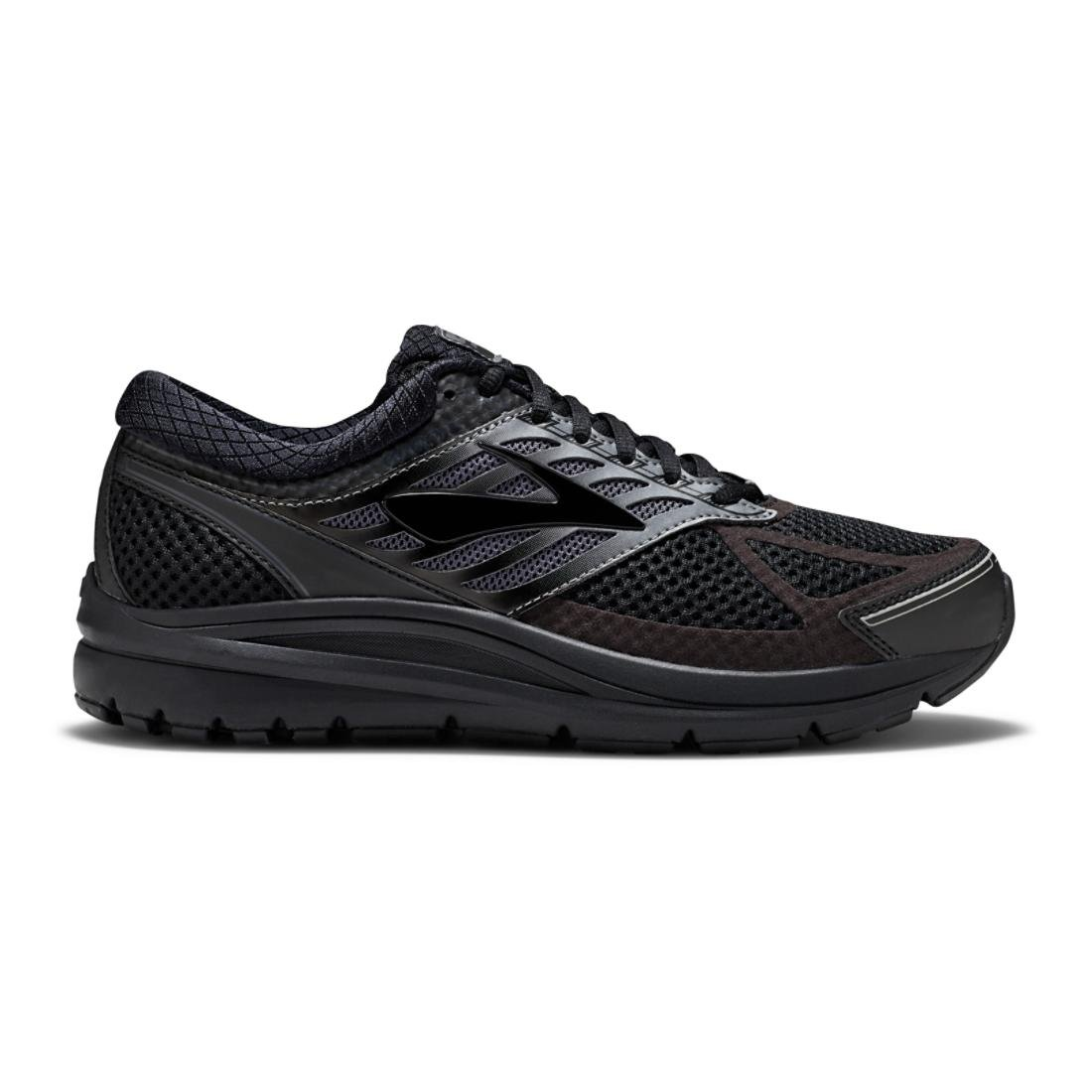 Brooks Addiction 13, Zapatillas de Running para Hombre 45.5 EU Negro (Black/Ebony 071)