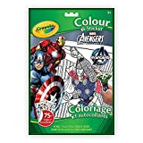 Crayola Color and Sticker Book, Marvel Avengers, Packaging May Vary