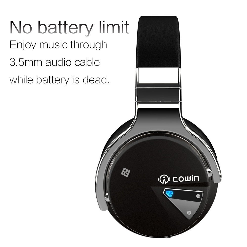 Cowin E-7 Active Noise Cancelling Bluetooth Headphones