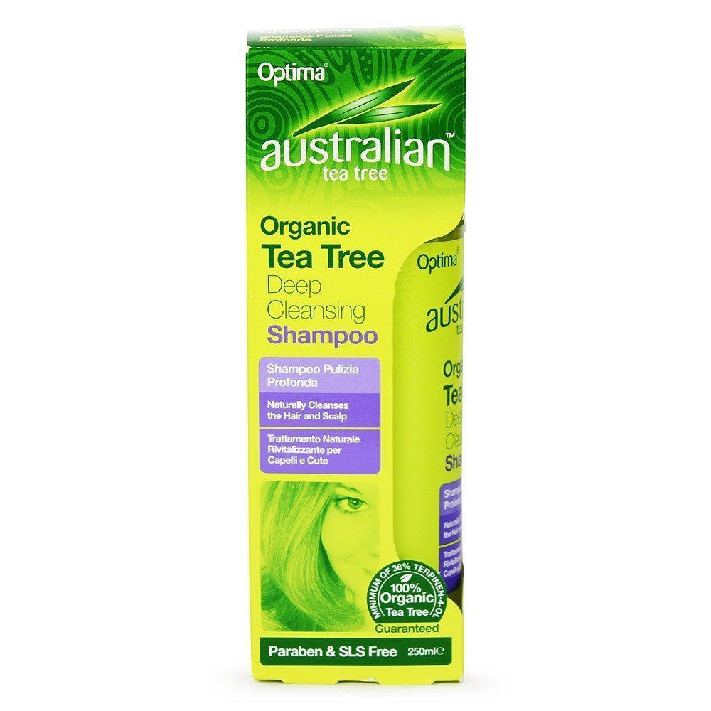 Australian Tea Tree Deep Cleansing Shamp 250ml Optima Consumer Health Ltd 67172