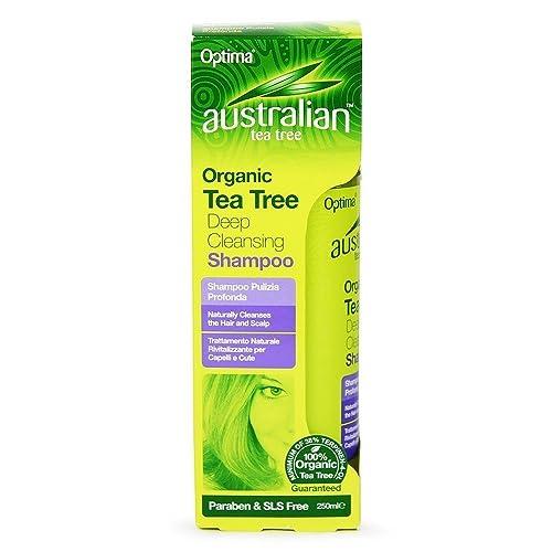 Australian Tea Tree Deep Cleansing Shamp 250ml
