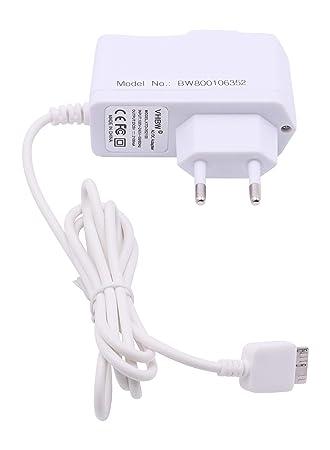 vhbw Cargador 220V, Cable de Carga 10W (5V/2.1A) con USB ...