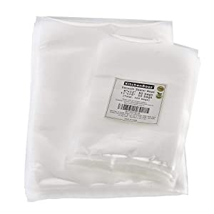 "Vacuum Sealer Bags 50 of Each Size 8""x12"" Quart and 11""x16"" Gallon. KitchenBoss Commercial Grade for Vacuum Storage Bags for Sous Vide (Total 100 Bags)"
