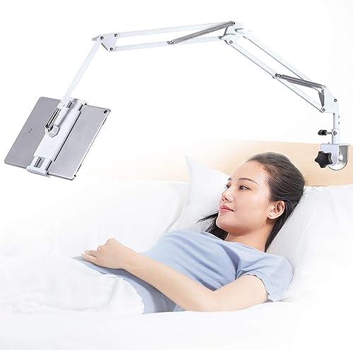 Tablet Stand Adjustable, Foldable Tablet Stand for Bed - Best Tablet Holders for Bed