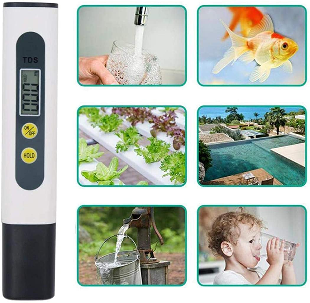 Pesters Pure Water Household Water Quality Test Pen Tap Water Test Pen pH Meters
