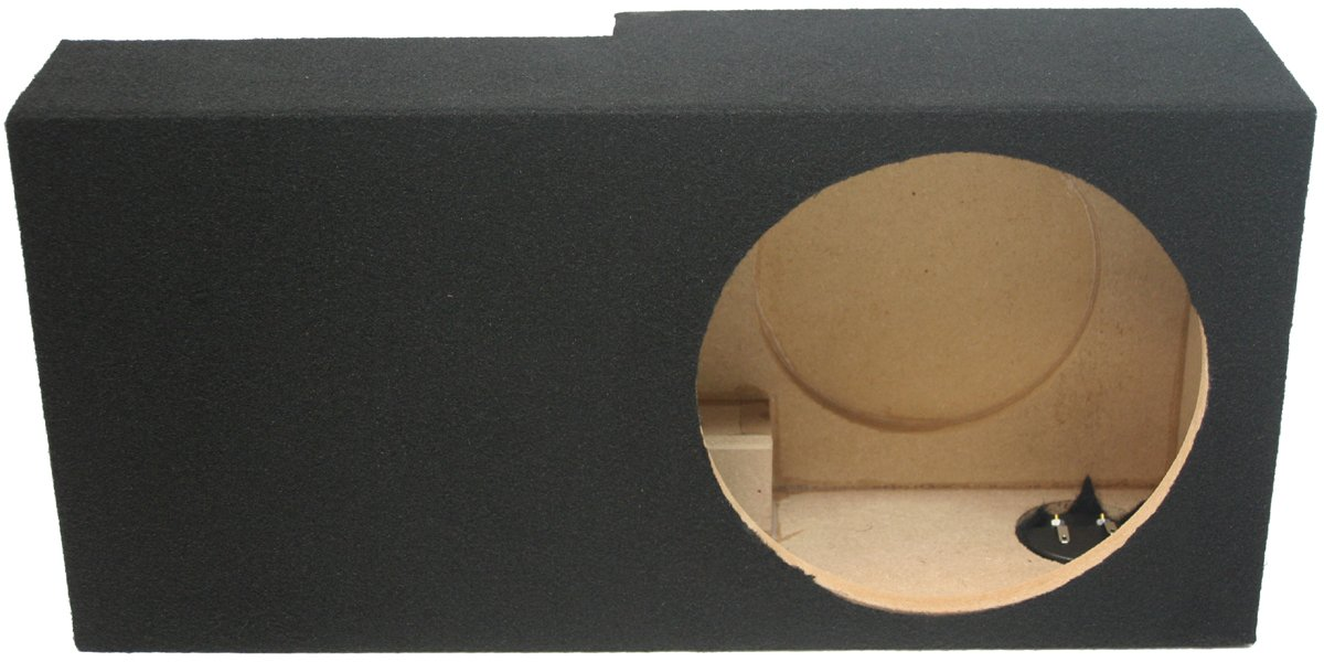 Compatible with Ford Explorer Sport Trac Truck 2001-2006 Single 10 Subwoofer Sub Box Speaker Enclosure