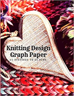 Buy Knitting Design Graph Paper 20 Stitches To 30 Rows Create