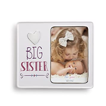 Amazon.com : Demdaco Baby Frame, Big Sister : Baby