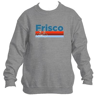 Frisco Retro Bike & Mountain Bike - Colorado Youth Fleece Crew Sweatshirt - Unisex
