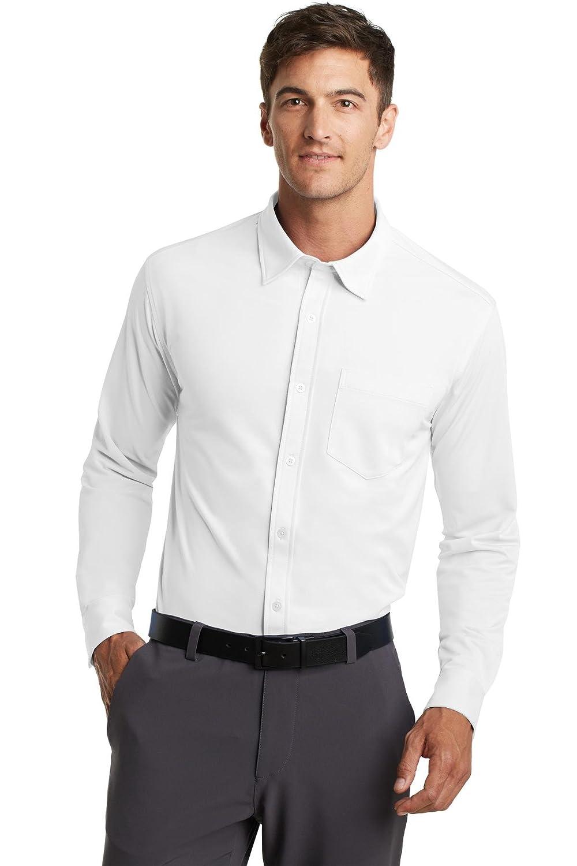 Port Authority K570 Mens Dimension Knit Dress Shirt At Amazon Mens