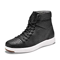 TRAVEL FOX Women's 900 Cloud Nappa Leather Round Toe Lace-Up High-Tops
