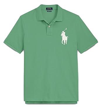 f95bf244156b Polo Ralph Lauren Mens Custom Fit Big Pony Mesh Shirt (L