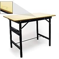 Werkbank Arbeitstisch Klappbar Max.150kg Werktisch Faltbar Klapptisch Arbeitsplatte Liniert
