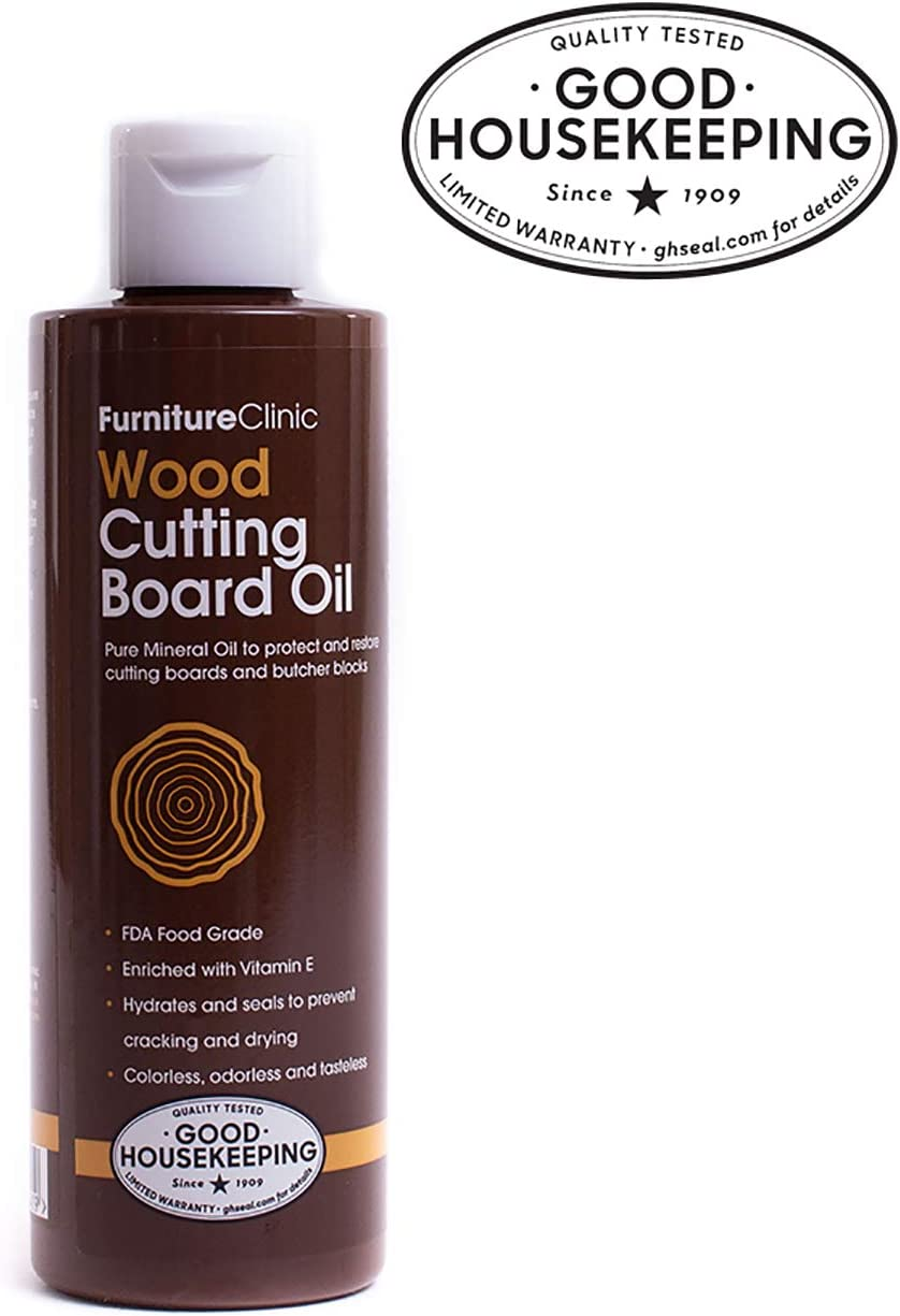 Furniture Clinic Mineral Oil for Cutting Boards Food Grade Mineral Oil to P...