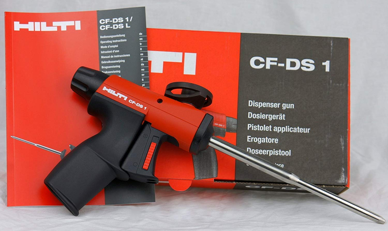 cf-ds1 Hilti Deluxe dispensador de espuma aislante sellador cf-ds-1: Amazon.es: Jardín