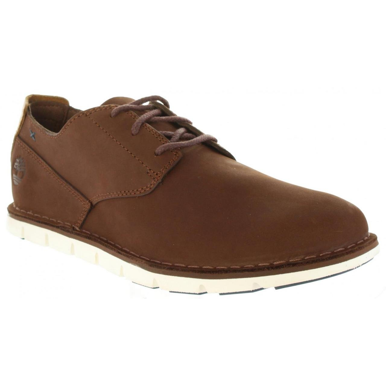 Timberland Tidelands Oxford CA1PF2 Dark Brown Nubuck