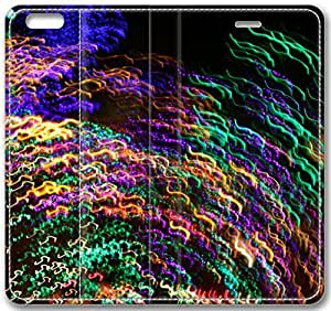 "Abstract Artistic Psychedelic Leather Cover for iPhone 6 Plus(5.5"") Kimberly Kurzendoerfer"
