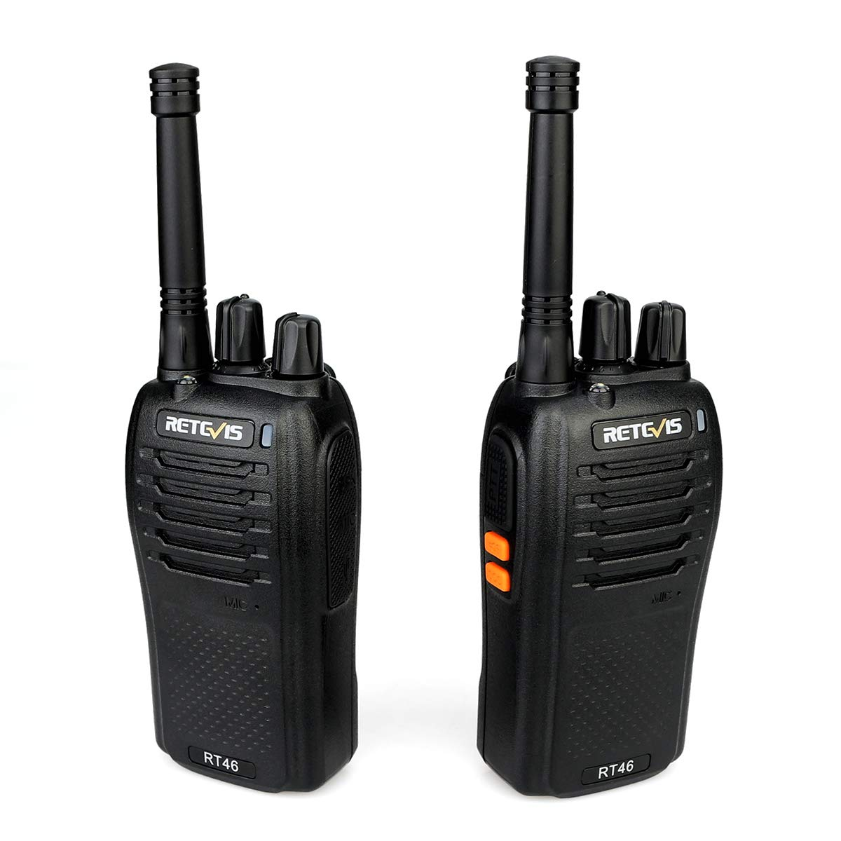 A Pair Retevis Rt46 Walkie Talkie 2w Portable Two Way Radio Transceiver Vox Micro-usb Charging Support Li-ion Battery or Aa
