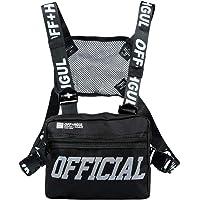 abcGoodefg Tactical Chest Rig Radio Shoulder Holster Holder Pack Walkie Talkie Harness Hip Hop Backpack Chest Rig Vest…
