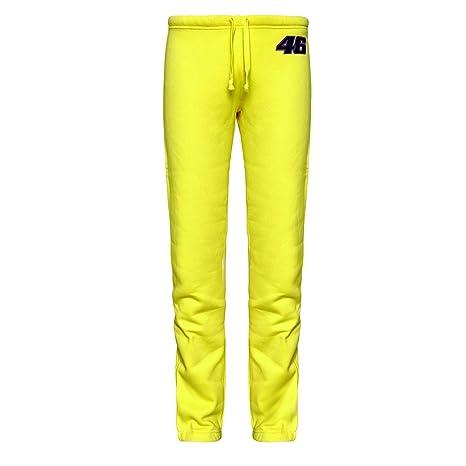 07198e07b32b Valentino Rossi da Donna Palestra Tuta da Ginnastica Pantaloni, Donna,  Yellow