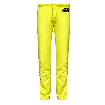 Valentino Rossi señoras Amarillo Gimnasio Chándal Jog Pantalones: Amazon.es: Deportes y aire libre