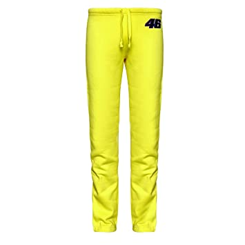 Valentino Rossi Damen Jogginghose, Gelb, Hose für