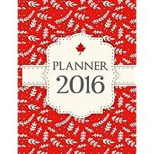 Planner 2016: Dairy Planner Beautiful Design Useful Function