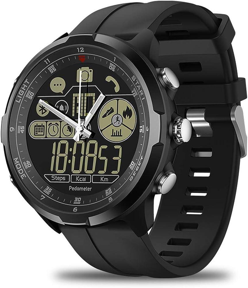 JCXT Smart Watch Vibe 4,Super Lightweight Hybrid Rugged