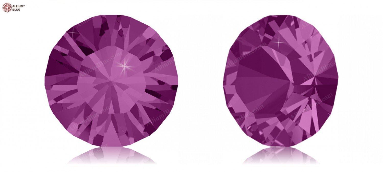 Cristales Redondas de Swarovski 5108650 Piedras Redondas Cristales 1028 PP 4 Fuchsia F, 1440 Piezas fef993