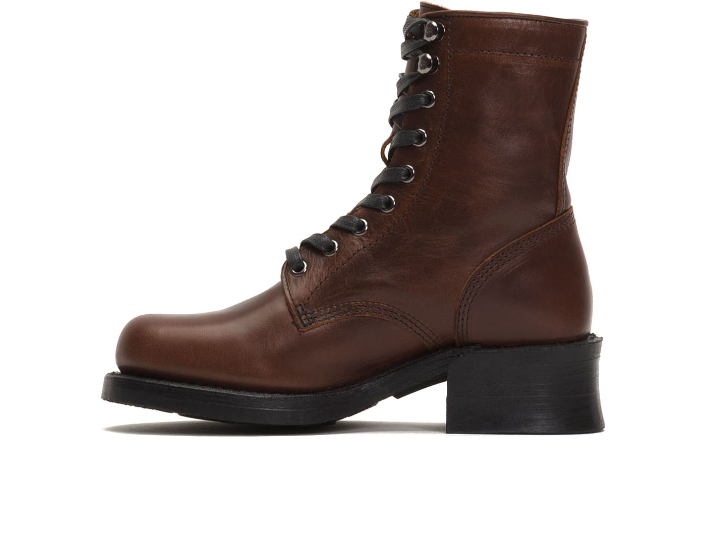 FRYE Womens Engineer Combat B06XHR963X 6 B(M) US|Cognac