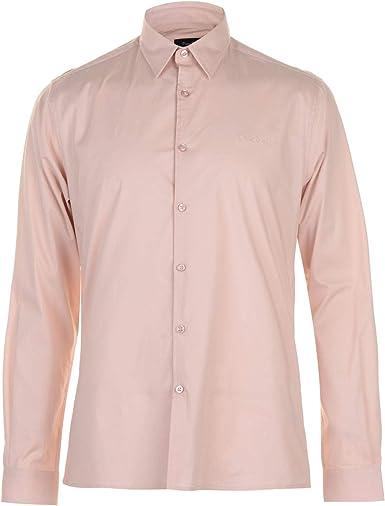 Pierre Cardin - Camisa de manga larga para hombre: Amazon.es: Ropa y accesorios