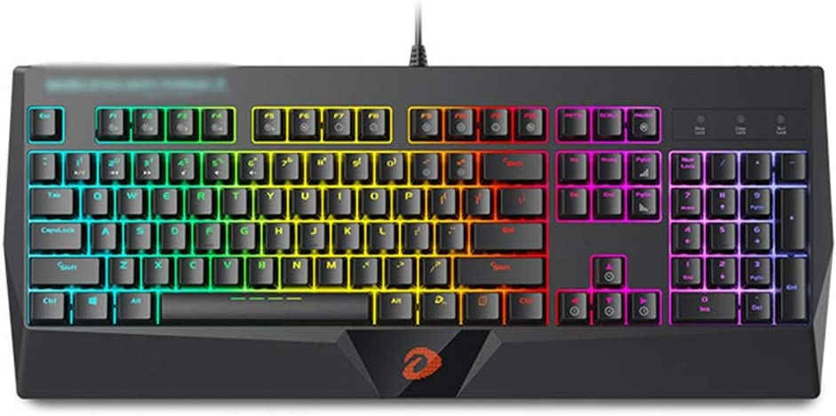 XXW Infrared Axis Wired Mechanical Keyboard Optical Axis Green Axis RGB Game Keyboard Waterproof Magic Color Pluggable