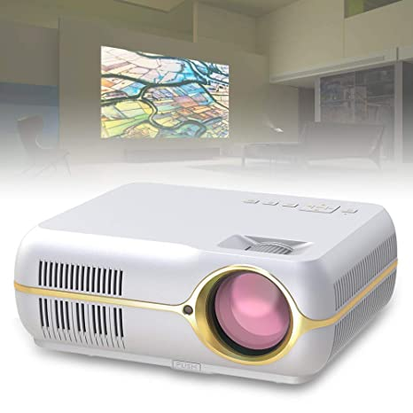 ALWAYZZ Proyector de Video HD LED DH-A10B Proyector de Cine en ...