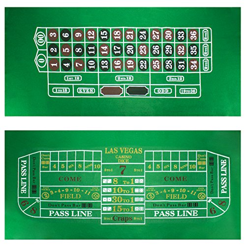 Casino equipment craps layout