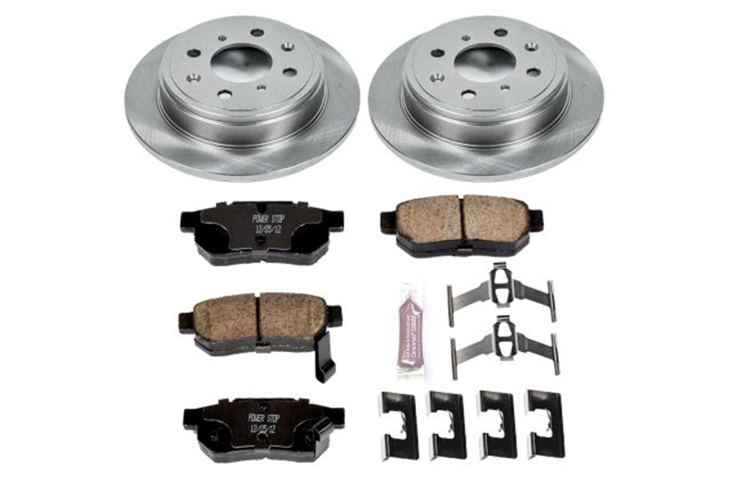 Autospecialty KOE408 1-Click OE Replacement Brake Kit Power Stop