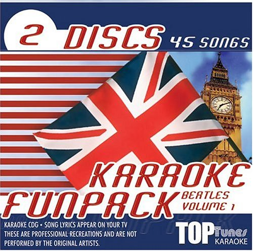 Beatles - Top Tunes Karaoke CDG Beatles Fun Pack TTFP-9&10 - Zortam Music