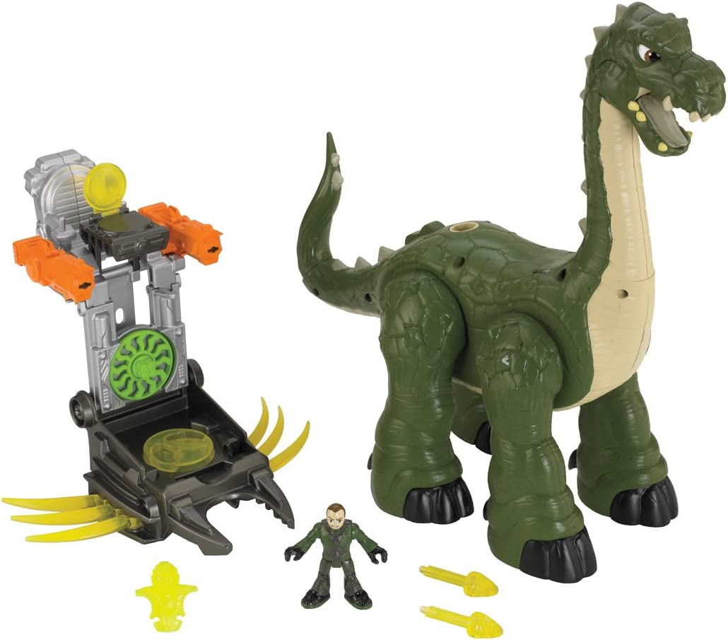 Amazon Com Fisher Price Imaginext Mega Apatosaurus Toys Games They first appeared during the triassic period, between 243 and 233.23 million years ago. fisher price imaginext mega apatosaurus