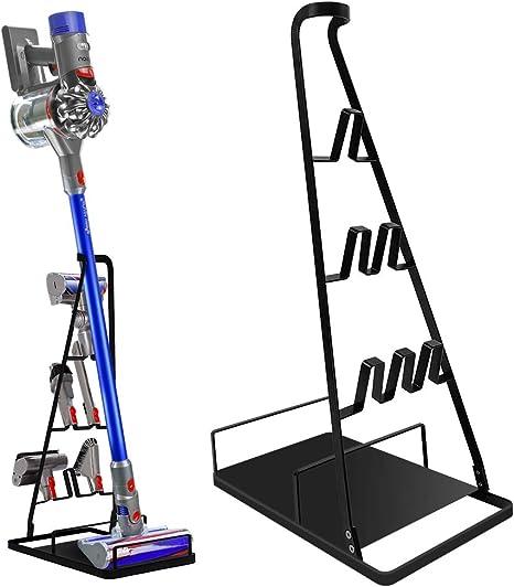 DoubleBlack Soporte Dyson V10 V11 Aspirador e Accesorios Soport Organizador para Dayson Negro: Amazon.es: Hogar