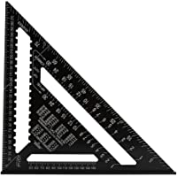 12 Inch Aluminum Alloy Triangle Ruler Square Protractor High Precision Measuring Tool for Engineer Carpenter